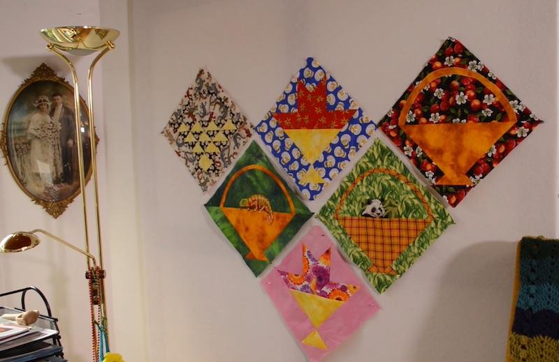 Linda's design wall