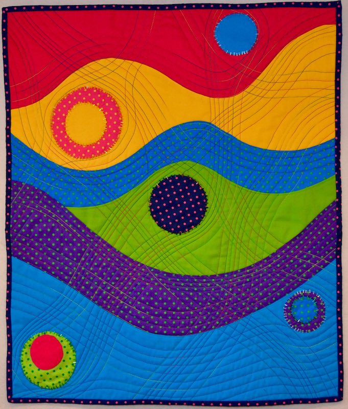 Crazy Curve Wallhanging