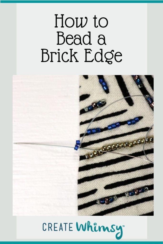 Beaded Brick Edge 2