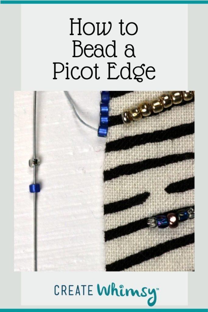 Beaded Picot Edge 1