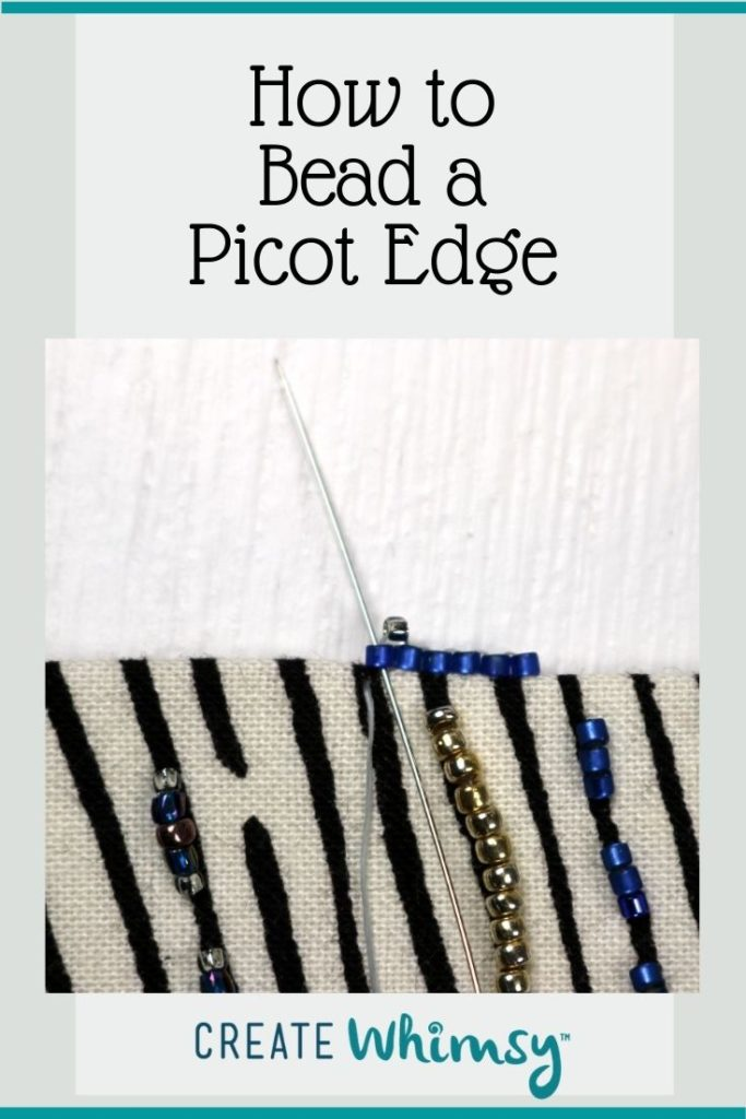 Beaded Picot Edge 2