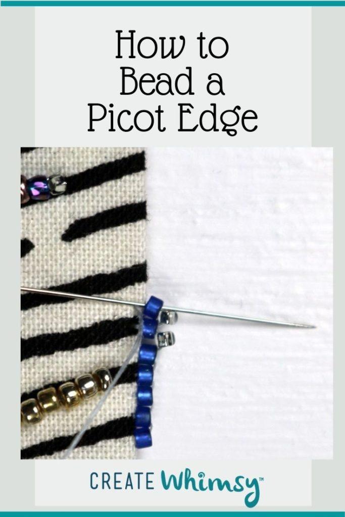 Beaded Picot Edge 3