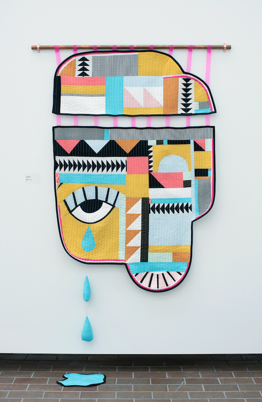 Cry Baby quilt by Emily Bellinger