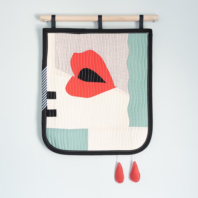 Modern quilt by Emily Bellinger