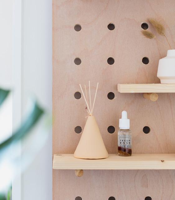 Pottery incense holder