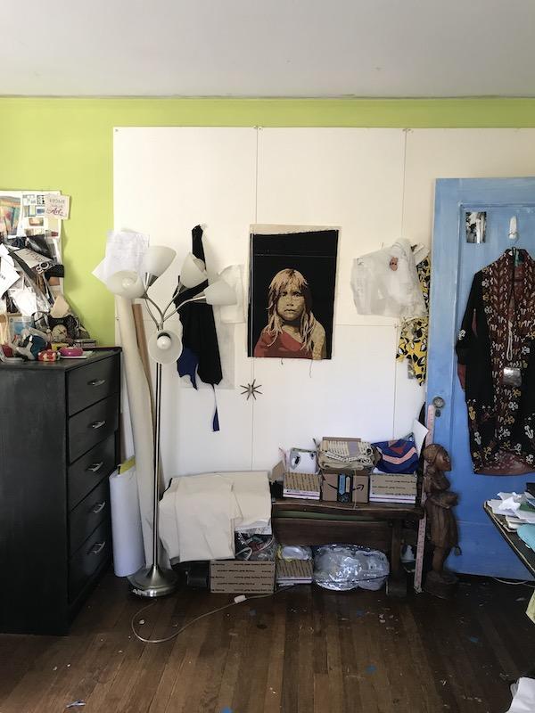 Leni's design wall