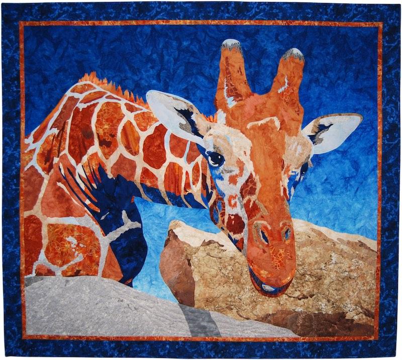 Bucky art quilt