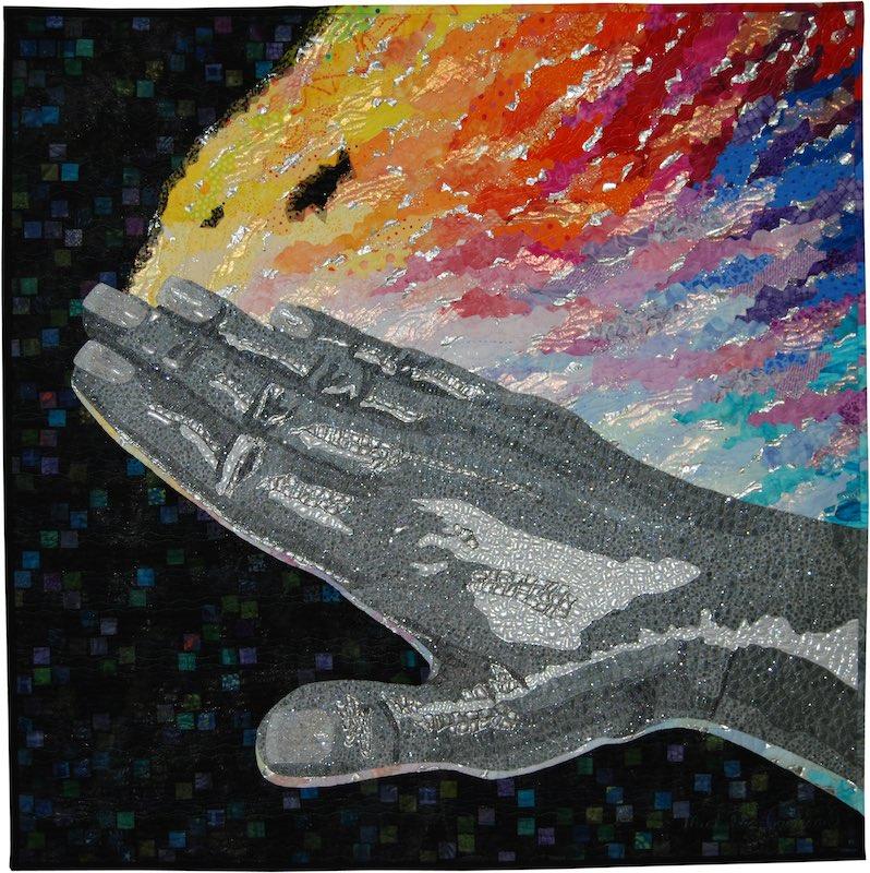 Silver Touch art quilt