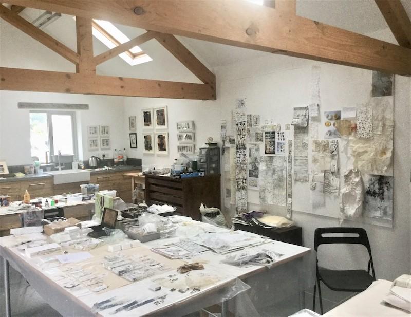 Shelly's studio