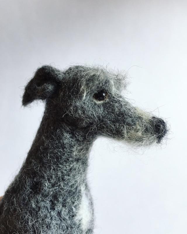 Needle felted dog - 2