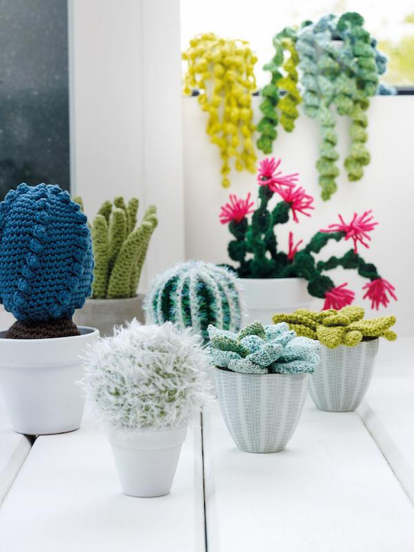 More crochet cactus