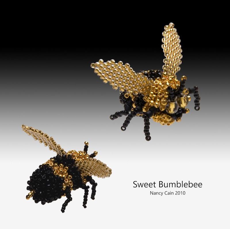Beaded Sweet Bumblebee