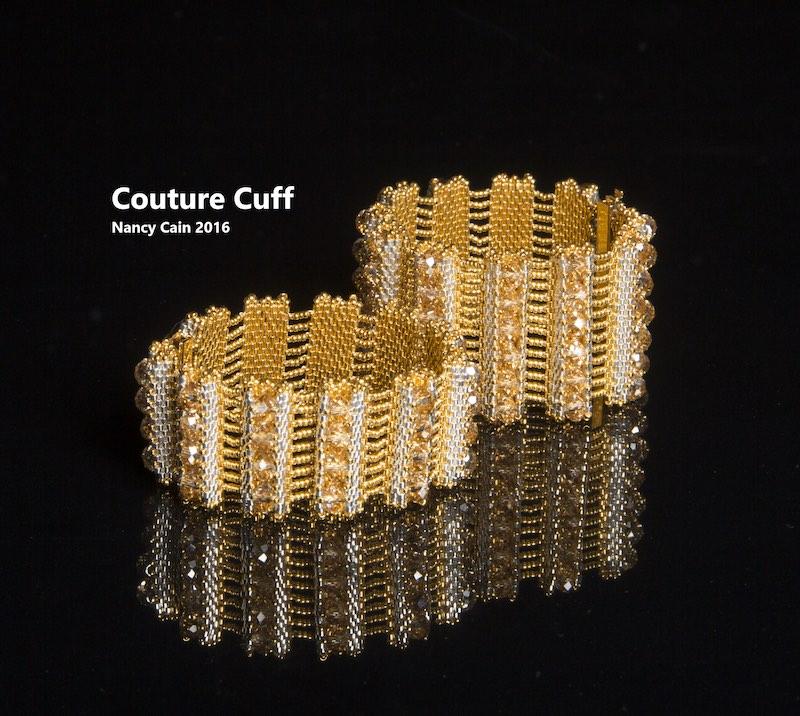 Couture Cuff bracelet