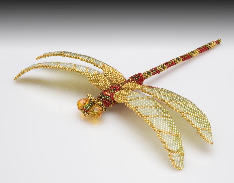 Beaded Dragonfly