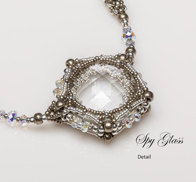 Spy Glass necklace detail