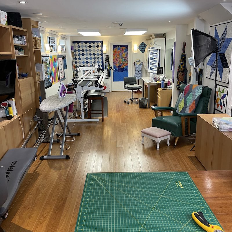 Rose's studio, office and gym