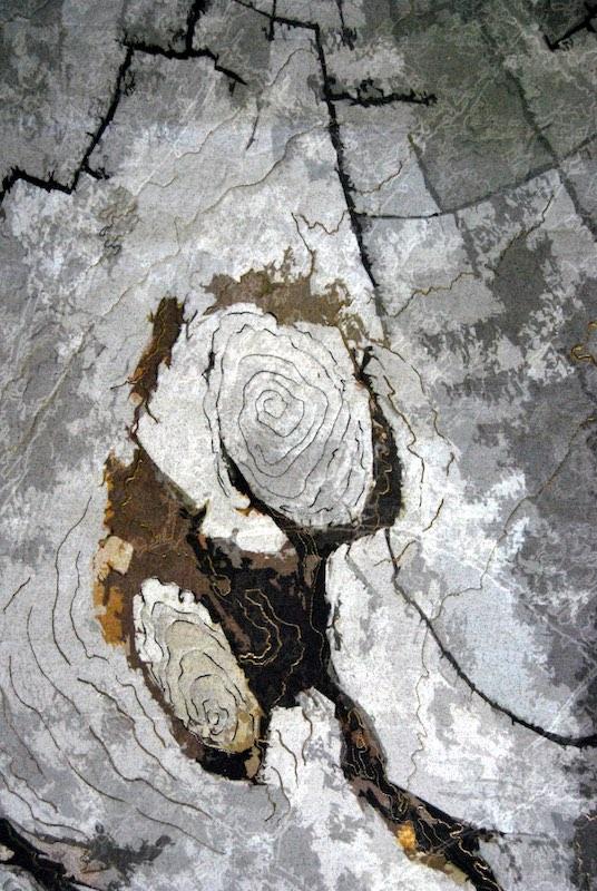 Line Dance, Tree Ring Patterns, St. Mary's Lake Glacier Park MT, Detail