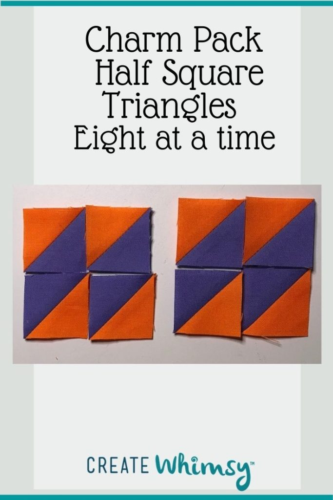 Charm Pack Half Square Triangles Pinterest Image 10