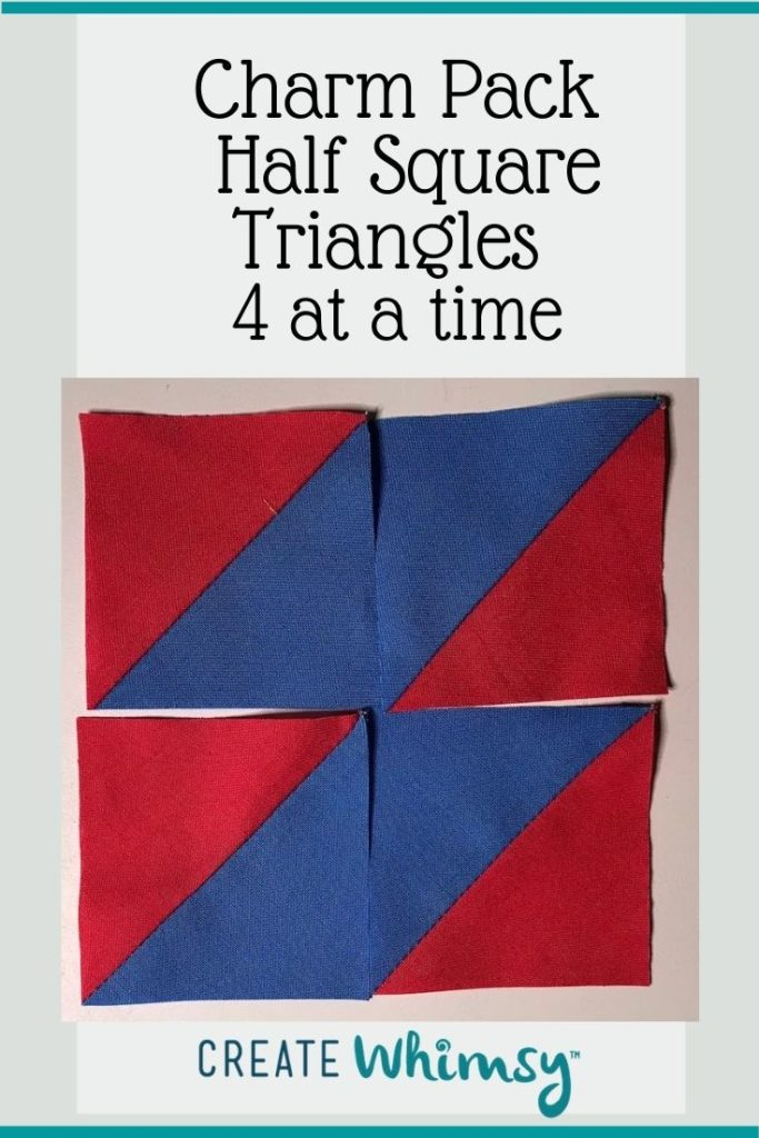 Charm Pack Half Square Triangles Pinterest Image 2