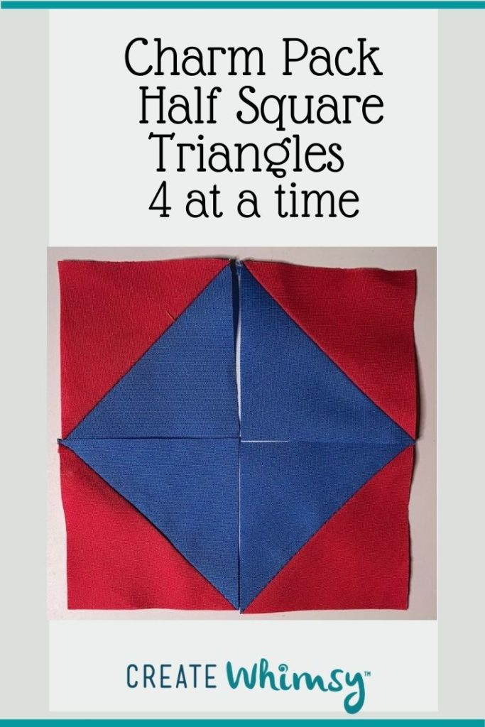 Charm Pack Half Square Triangles Pinterest Image 3
