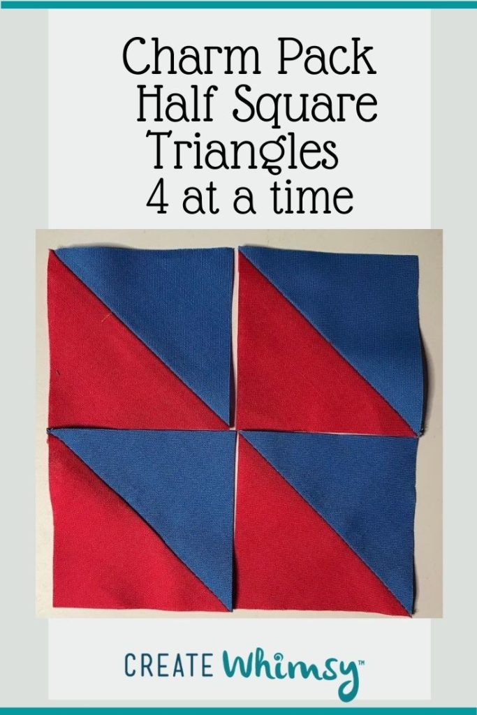 Charm Pack Half Square Triangles Pinterest Image 4