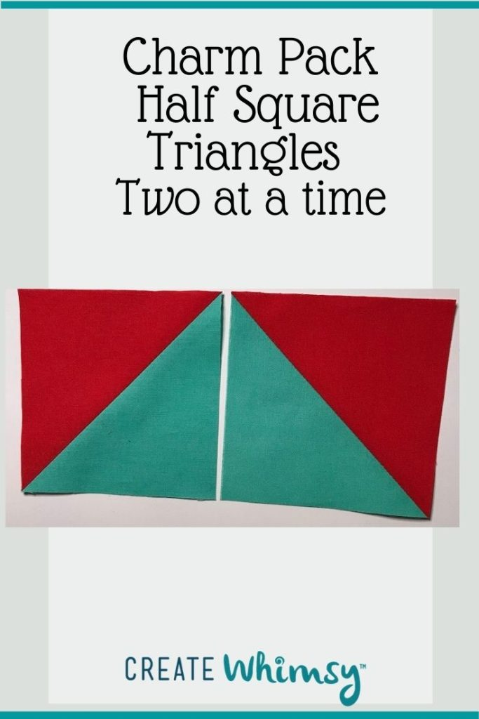 Charm Pack Half Square Triangles Pinterest Image 6