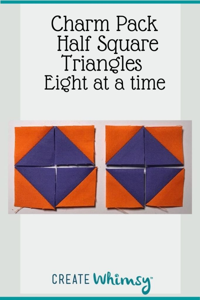 Charm Pack Half Square Triangles Pinterest Image 8