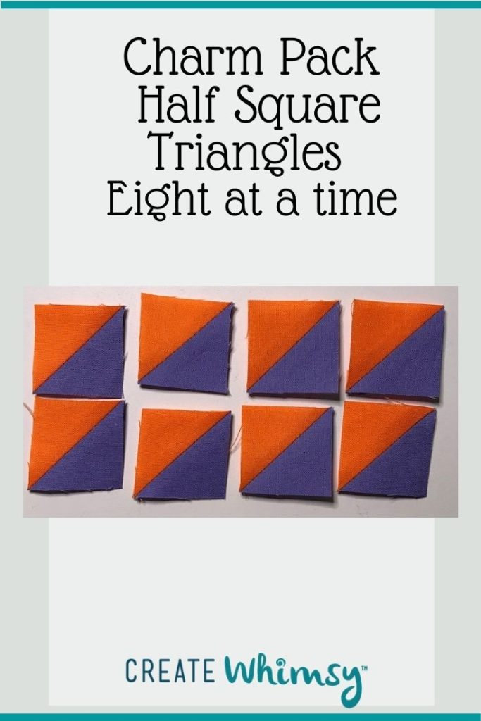 Charm Pack Half Square Triangles Pinterest Image 9