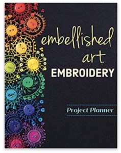 Embellished Art Embroidery Project Planner Christen Brown