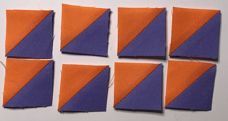 Charm Pack Half Square Triangles
