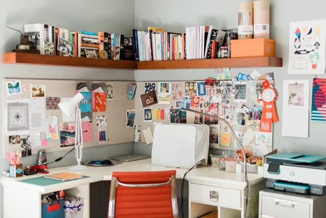 Brigit's studio