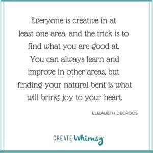 Elizabeth DeCroos Quote