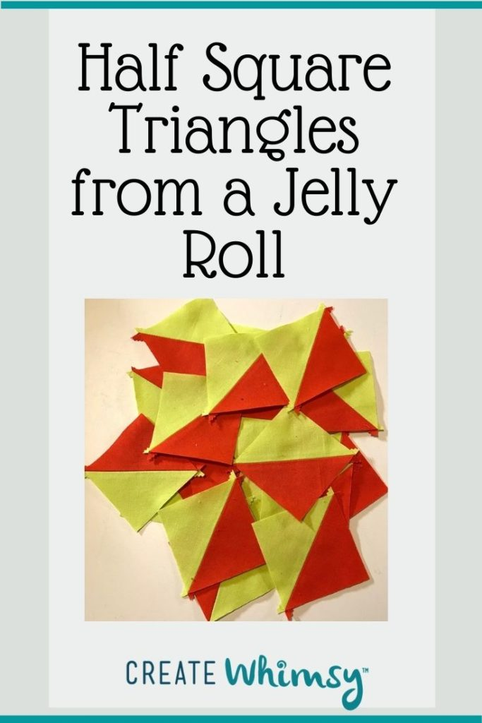 Half square triangles from a jelly roll 5