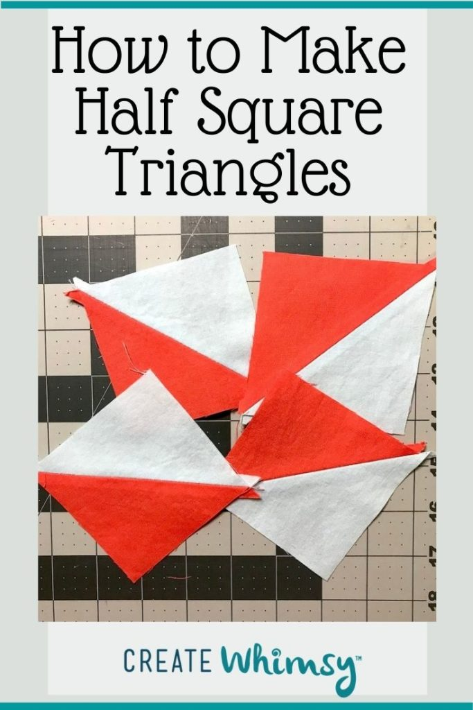 How to Make Half Square Triangles PI 1