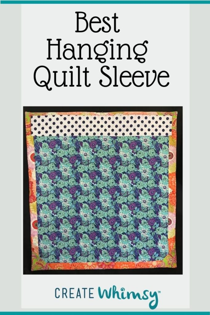 Quilt Sleeve Pin 1