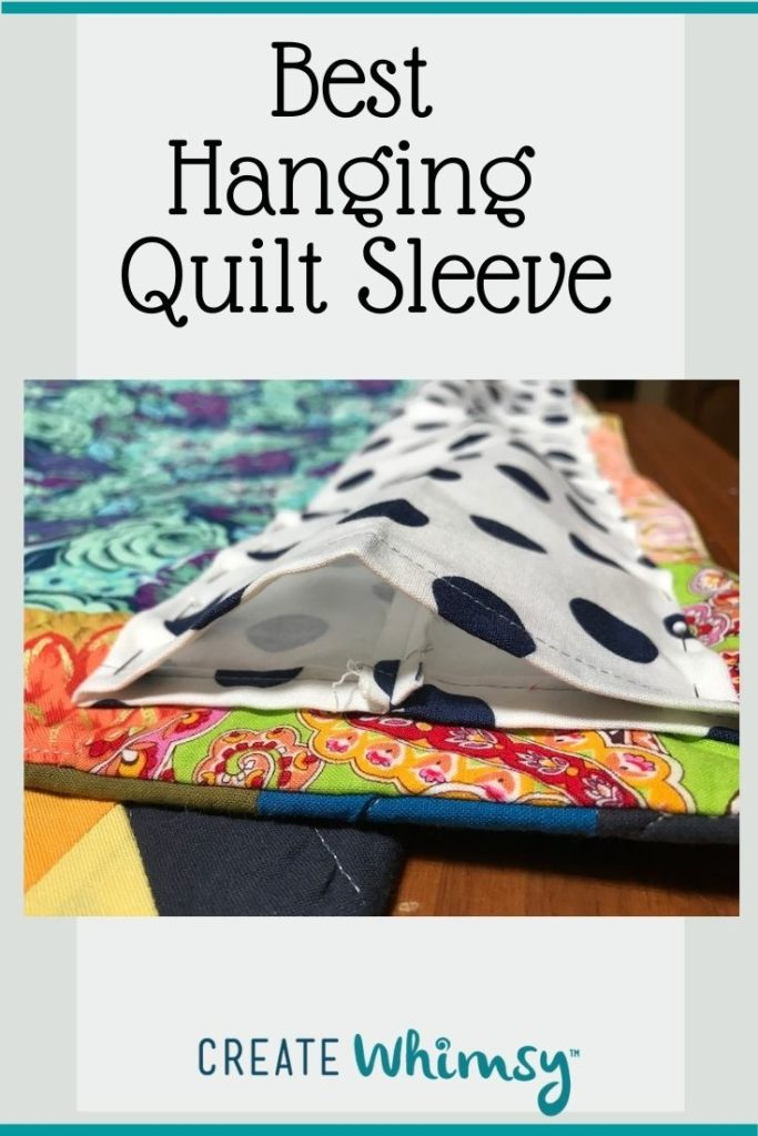 Quilt Sleeve Pin 2