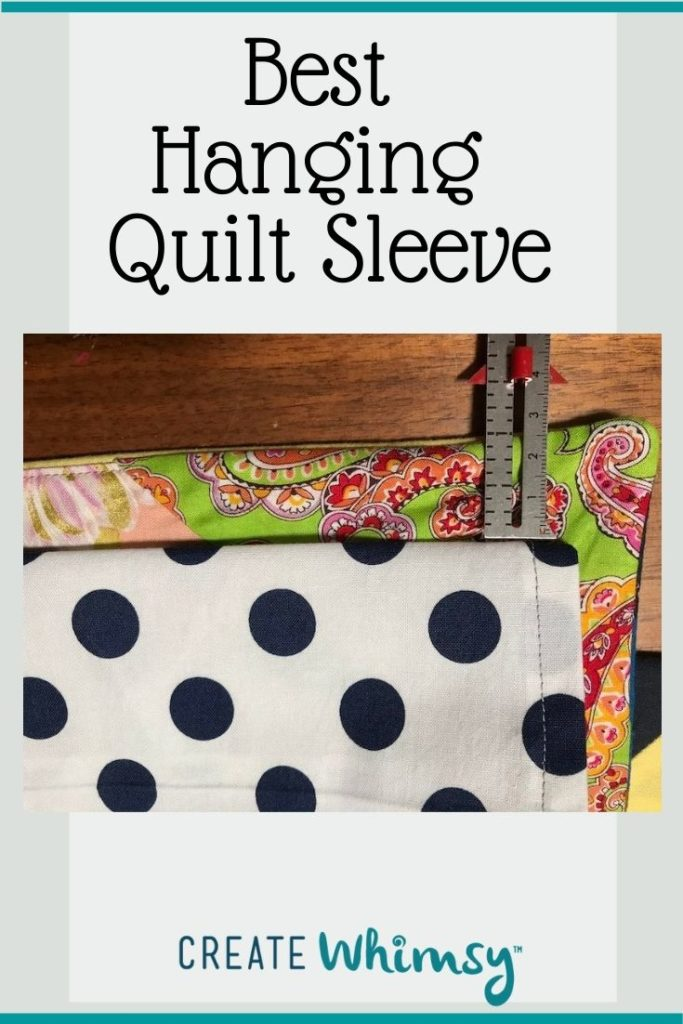 Quilt Sleeve Pin 3