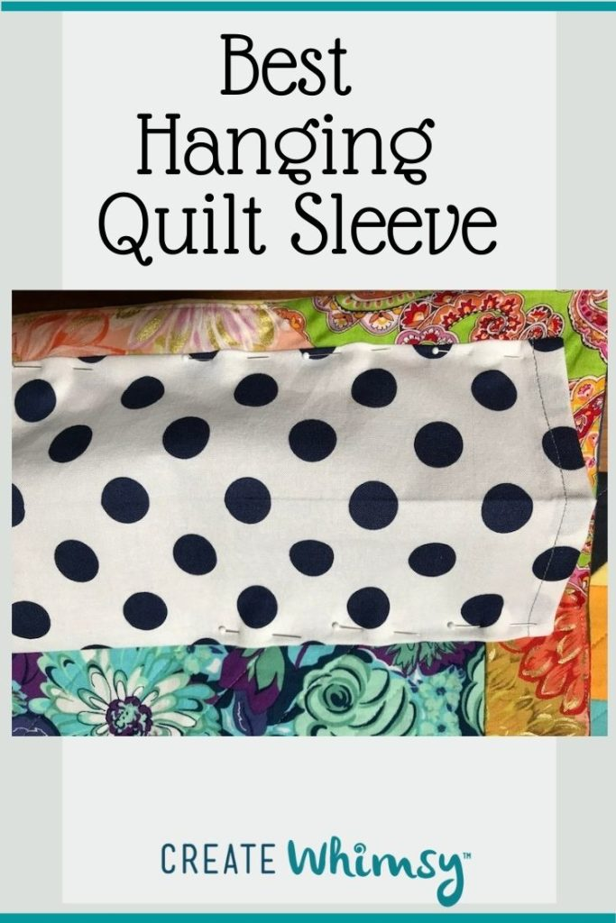 Quilt Sleeve Pin 4