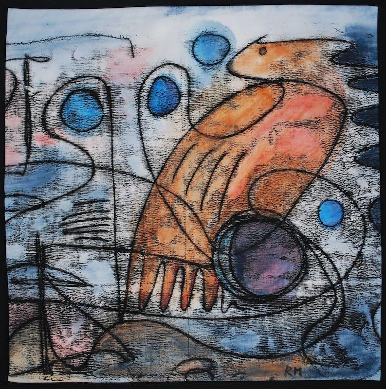 """A Rare Bird, 12"""" x 12"""", 2016"""