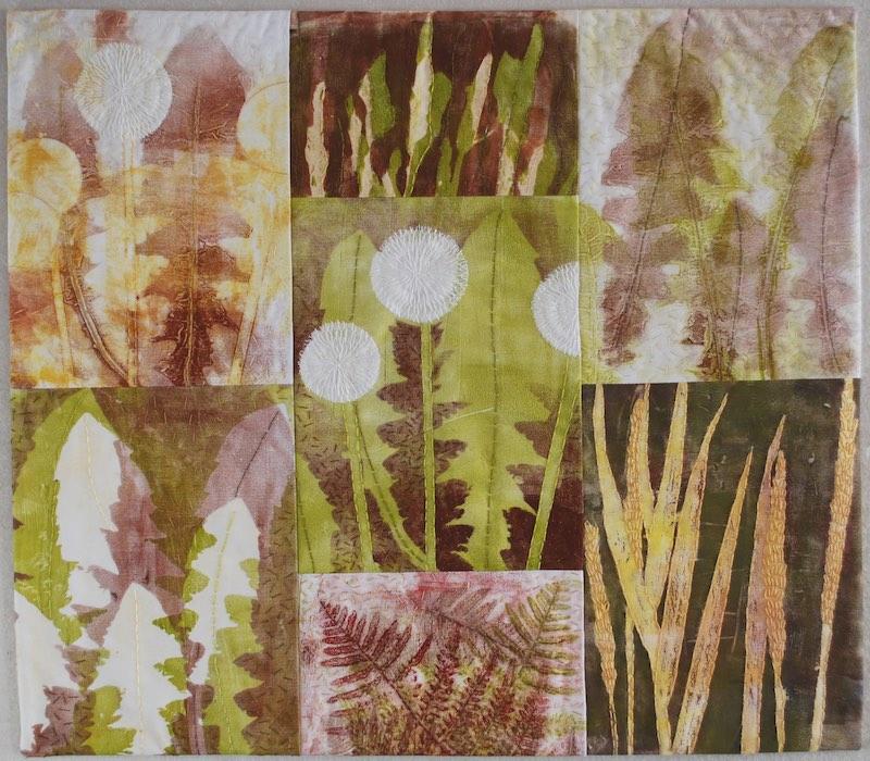 "Dandelion Dreams, 21""W x 18.5""H, 2020"