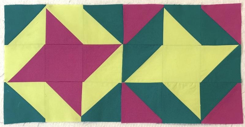 Friendship Star variation block layout