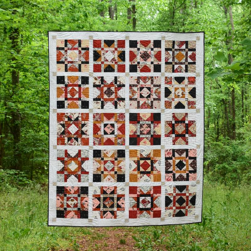 Orchard Valley quilt by Cheryl Brickey