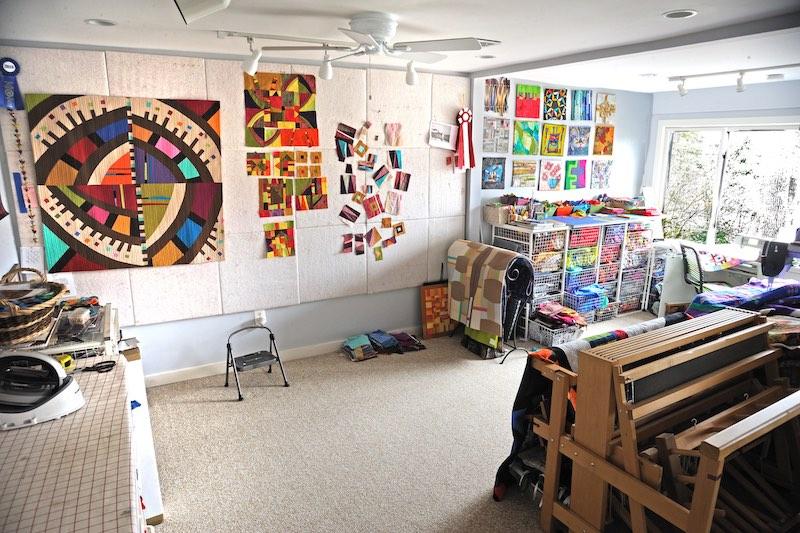 Cindy's studio