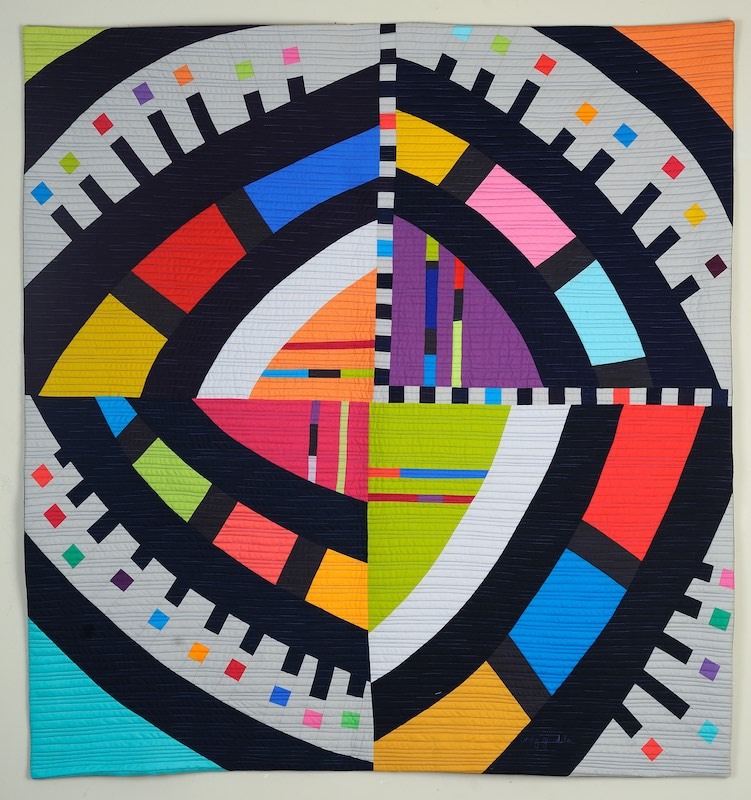 Spotlight: Cindy Grisdela, Improv Quilt Artist, Teacher and Author