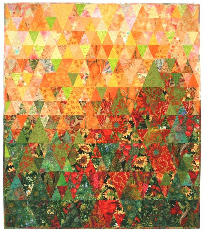 Indian Summer quilt by Jan Krentz