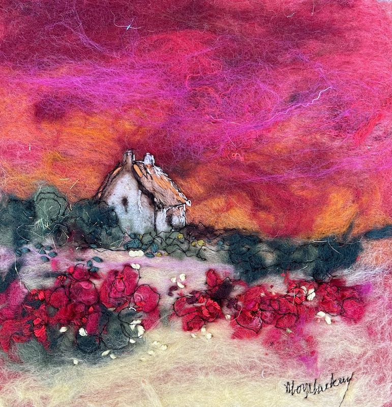 At Rose Cottage by Moy Mackay