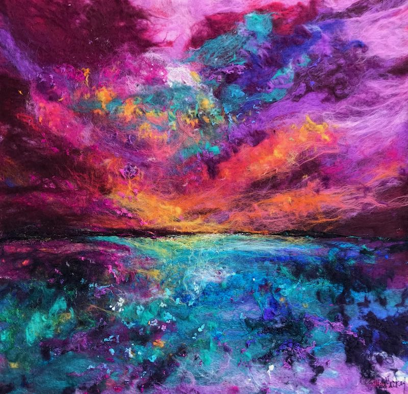 Where Sea Meets Sky by Moy Mackay
