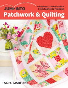 Book cover: Jump into Patchwork and quilting