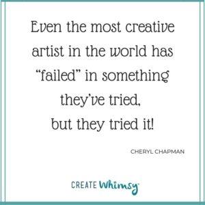 Cheryl Chapman Quote