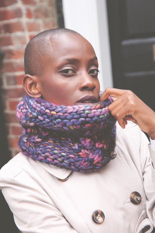 Bundled Main knitted cuff